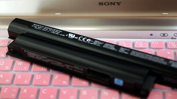 Sony's Lithium-ion batteries for Vaio laptops.