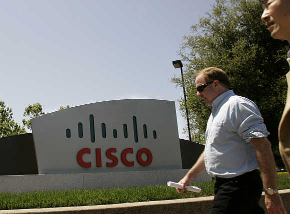 Headquarters of Cisco in San Jose, California.