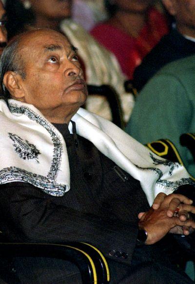 Former Indian Prime Minister P.V. Narasimha Rao.