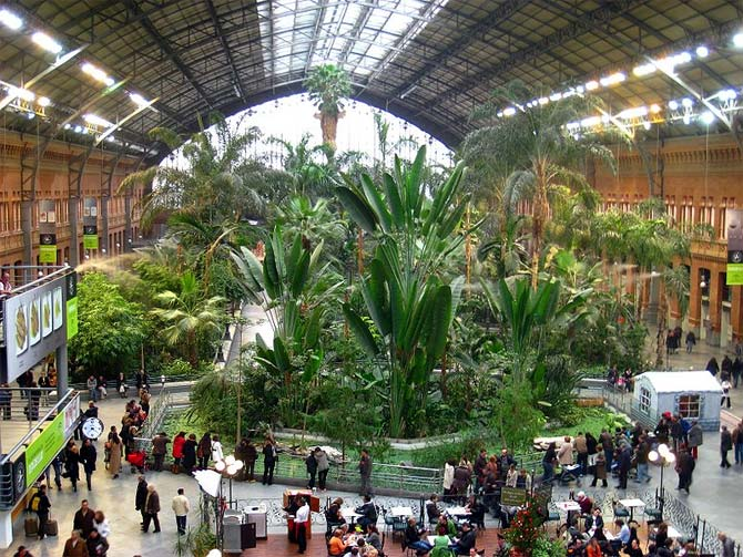 Estacion de Madrid Atocha.