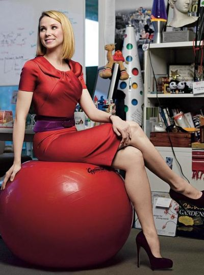 Yahoo! Chief Executive Marissa Mayer.