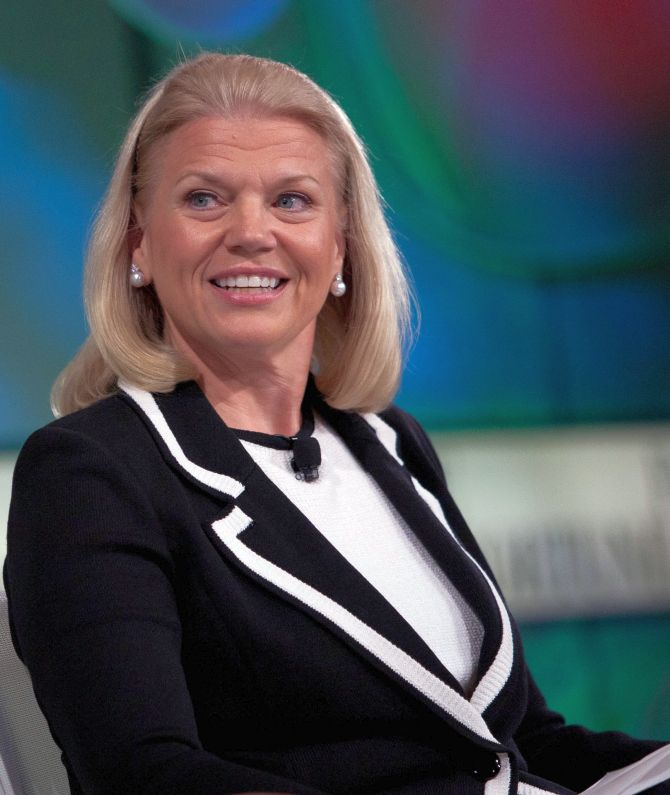 Virginia Rometty.