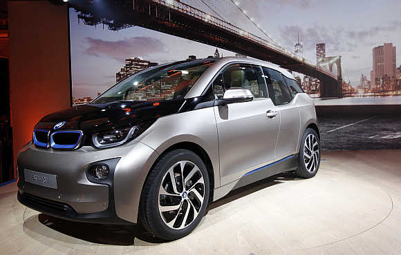 BMW i3 in New York.