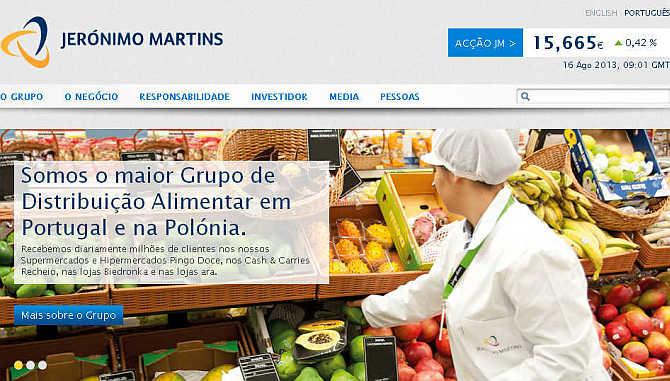 Jeronimo Martins.