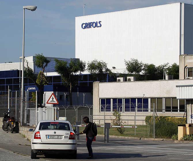 Grifols laboratory in Parets del Valles near Barcelona, Spain.