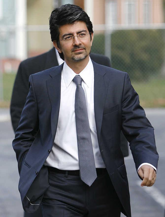 Pierre Omidyar in Georgetown, Delaware.