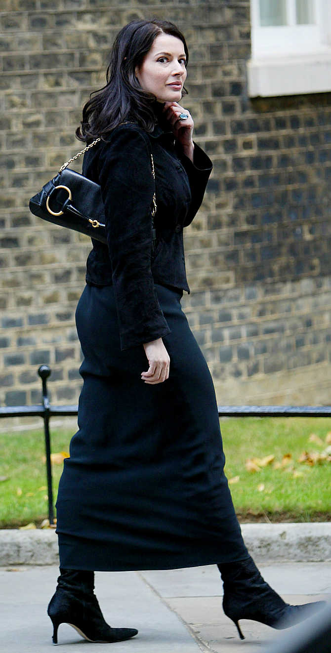 Nigella Lawson in London.