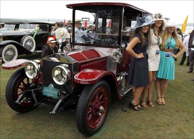 A tour of the amazing Vintage car show