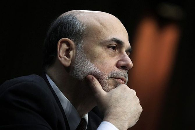 Fed Chairman Ben Bernanke.