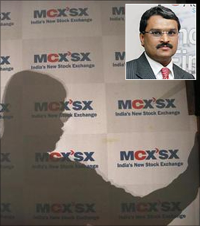 NSEL promoter Jignesh Shah (In the inset).