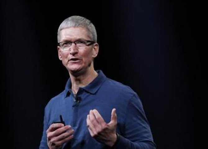 Apple Inc. CEO Tim Cook.