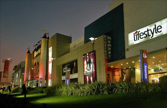 Inorbit Mall, Mumbai.