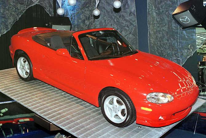 Mazda MX-5 Miata.