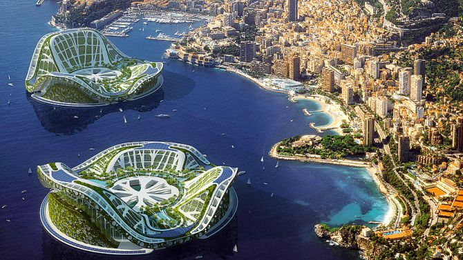 Lilypad: Floating City for Climate Refugees