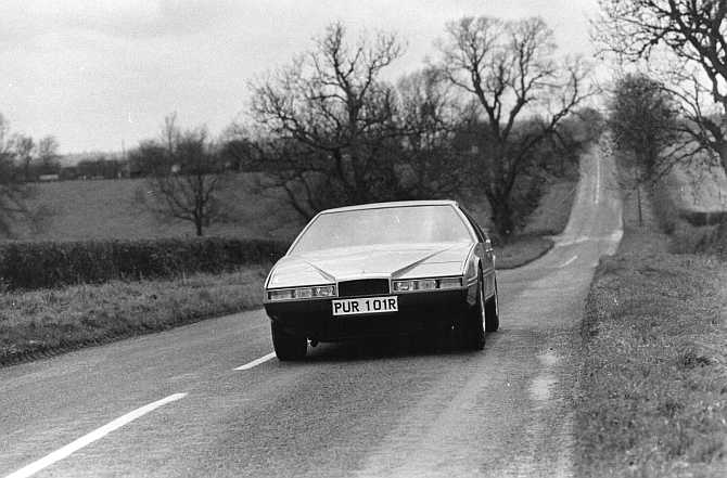 Iconic images capture the beauty of Aston Martin