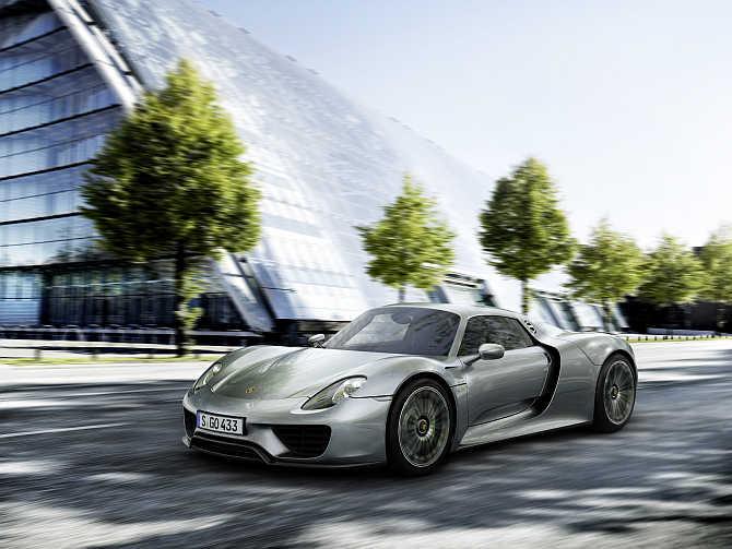 Porsche 918 Sypder.