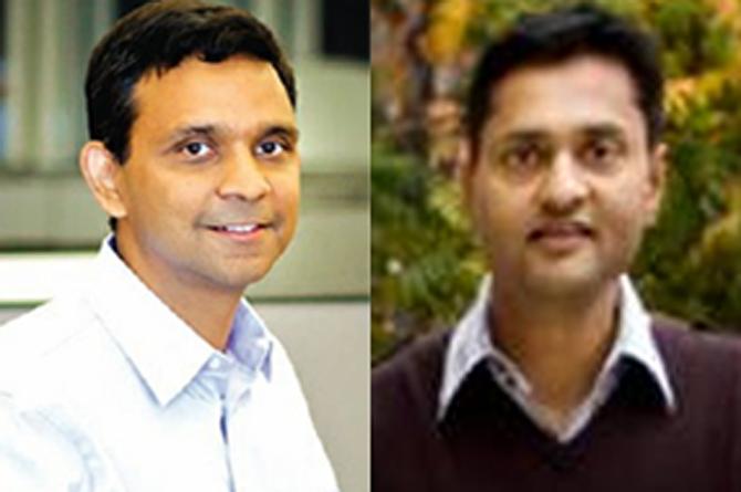 Venky Harinarayan (L) and Anand Rajaraman.