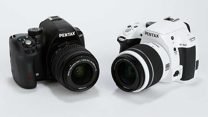 Pentax K-50.
