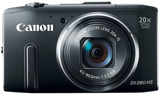 Canon PowerShot SX280 HS.