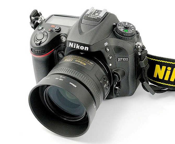 Nikon D7100.