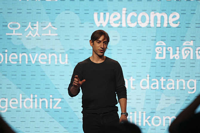 Mark Pincus in San Francisco, California.