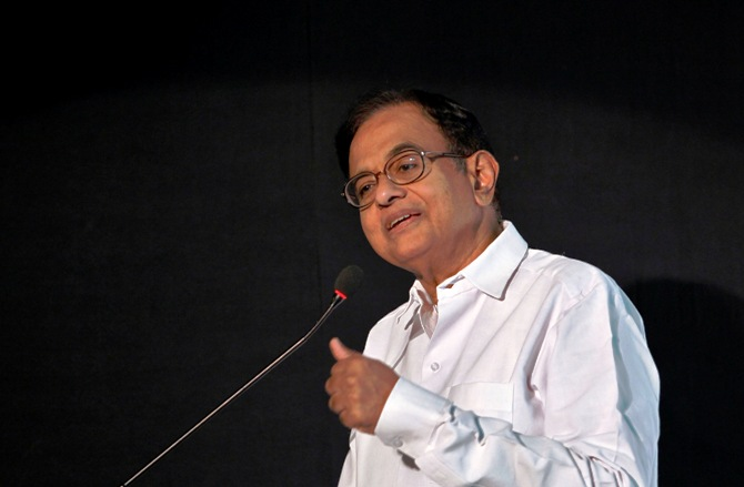 Finance Minister Palaniappan Chidambaram speaks at the Indian Private Equity and Venture Capital Association conclave in New Delhi July 16, 2013.