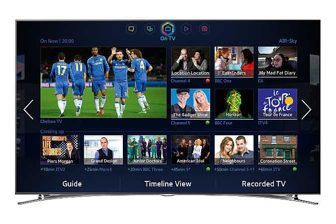 Samsung F8000 46-Inch TV.