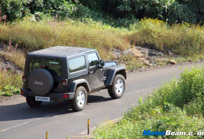 Jeep Wrangler: Goes where no other SUV can