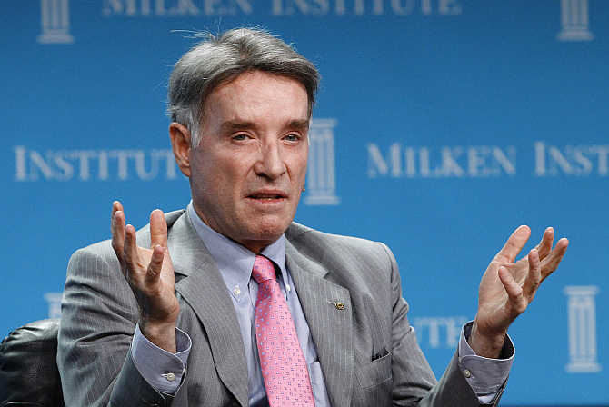 Eike Batista at the Milken Institute Global Conference in Beverly Hills, California.