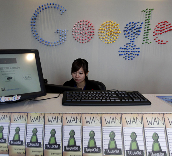 Take a peek inside Google's secretive data centres