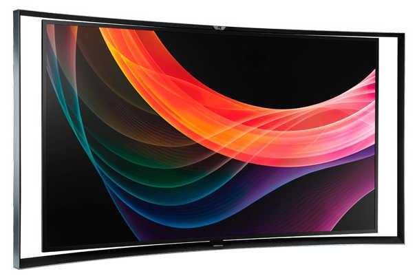 Samsung KN55S9 Smart OLED TV.