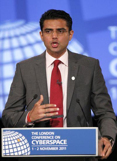 Minister of Corporate Affairs Sachin pilot.