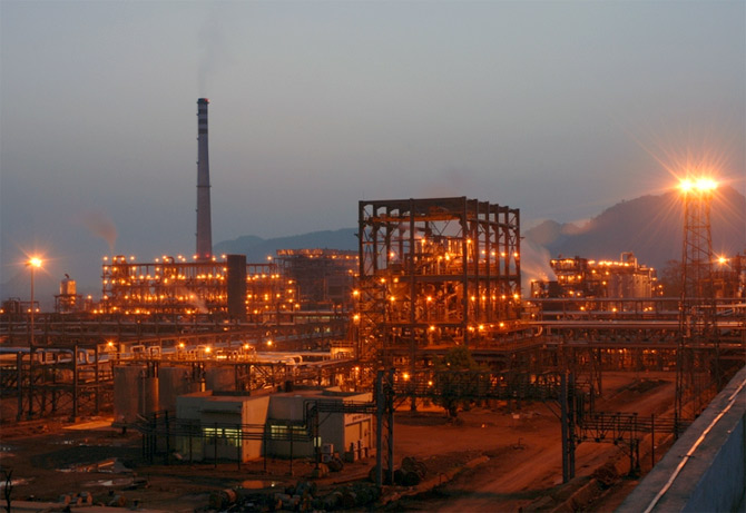 Aluminium smelter at Jharsuguda
