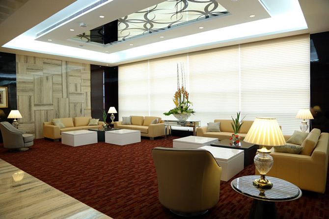 Interiors of the VIP Terminal