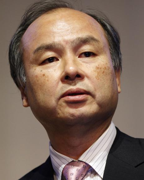 Softbank Corp's Masayoshi Son.