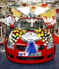 A Maruti Suzuki car