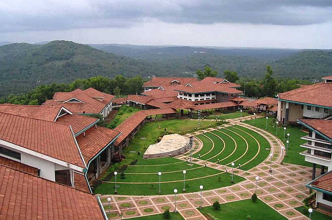 A view of Indian Institute of Management Kozhikode.