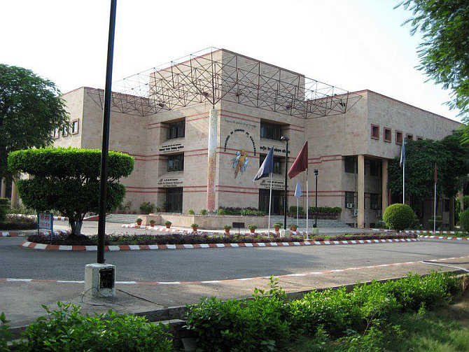 Headquarter of National Power Training Institute in Faridabad.