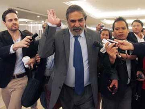 Anand Sharma scored a major victory at WTO.
