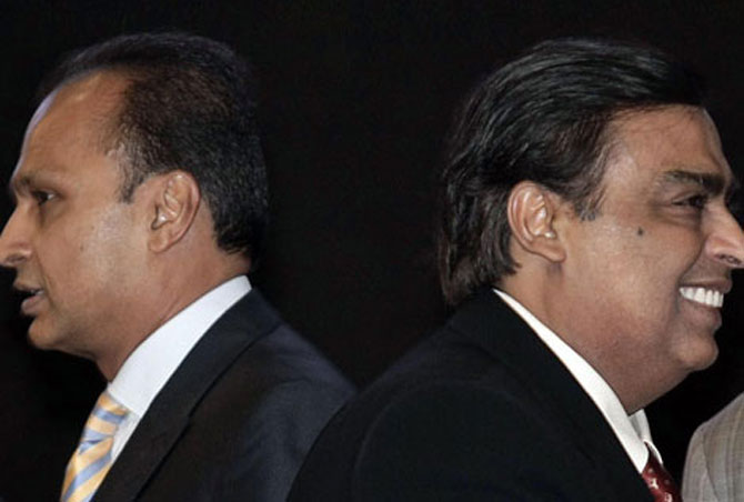 Mukesh-Anil patch-up.