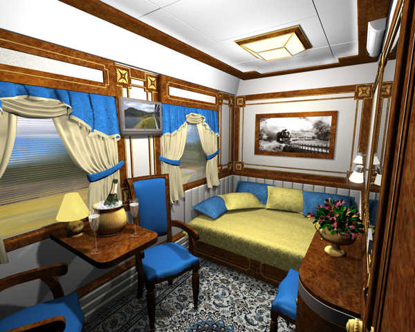 Golden Eagle Trans-Siberian Express.