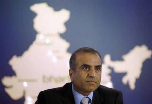 Sunil Bharti Mittal founder and chairman of Bharti Enterprises.