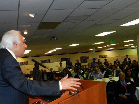 India should set up its own 'International Standard', said Sibal at TiE event in Silicon Valley in California.