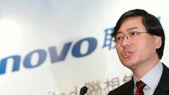 Lenovo chairman and CEO Yang Yuanqing.