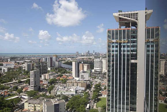 A view of Refice, northeast Brazil.