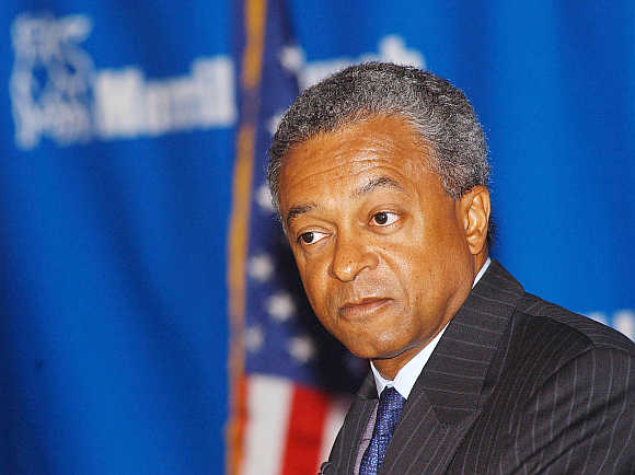Merrill Lynch's former president and CEO Stan O'Neal in New York.