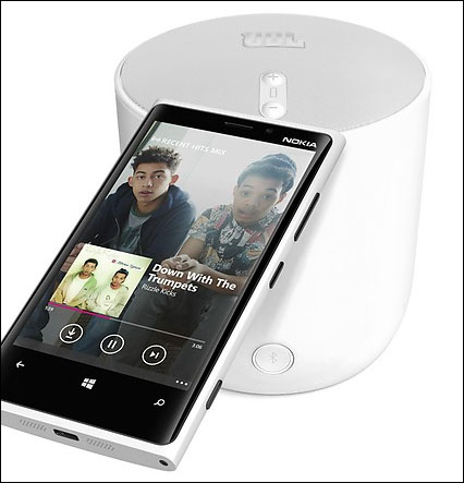 With Nokia Music you can stream unlimited music for free.