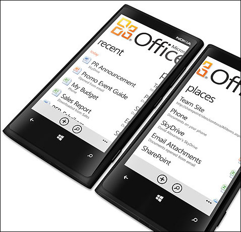 New Lumia family comes with full versions of Microsoft Office and Outlook.