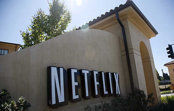 Headquarters of Netflix in Los Gatos, California United States.