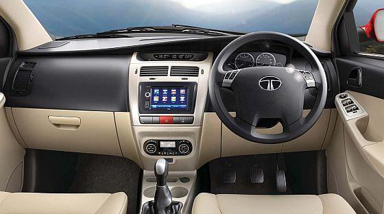 Interior of Tata Indica D90.